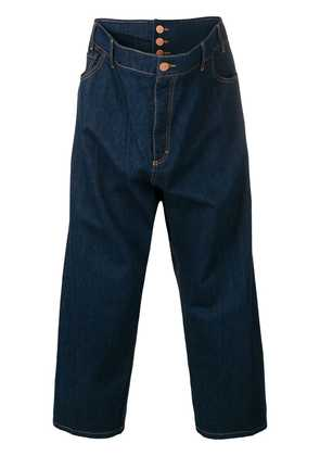 Vivienne Westwood Anglomania cropped loose-fit jeans - Blue