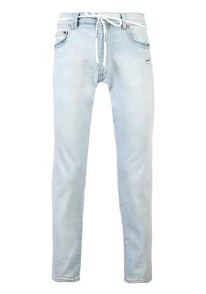 Off-White slim-fit jeans - Blue