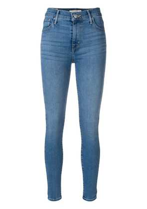 Levi's 702 high rise skinny jeans - Blue