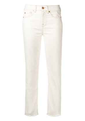 7 For All Mankind slim-fit jeans - White
