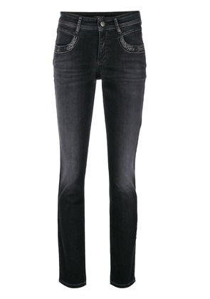 Cambio Parlina Swarowski crystal-embellished jeans - Black