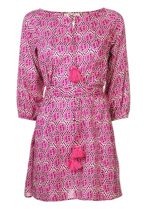 Figue Jules paisley dress - Pink