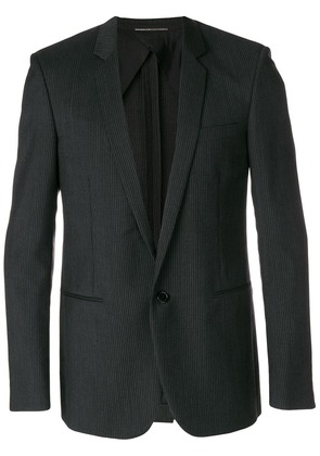 Saint Laurent deep v-neck tailored blazer - Black