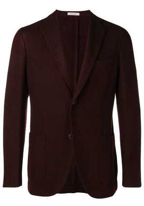 Boglioli single breasted blazer - Red