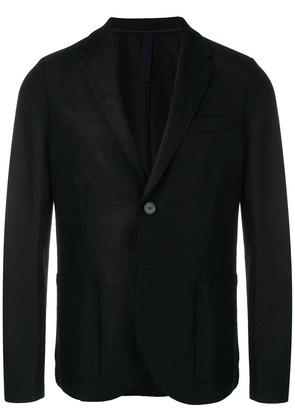 Harris Wharf London single breasted blazer - Black