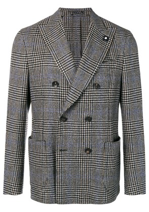 Lardini double breasted blazer - Grey