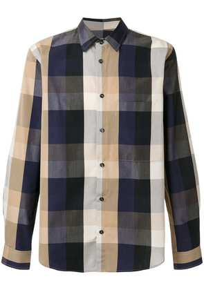 Golden Goose Deluxe Brand Crosbie check shirt - Blue