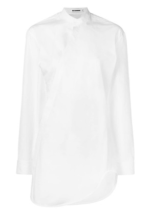 Jil Sander long-sleeved shirt - White