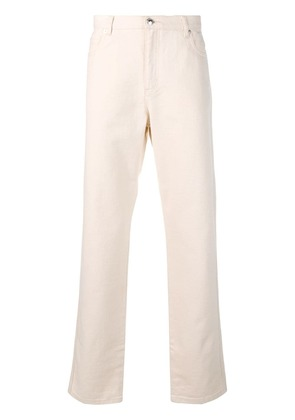 A.P.C. classic bootcut jeans - White