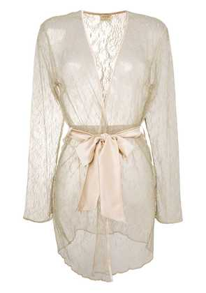 Myla lace night gown - Neutrals
