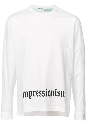 Off-White shirt effect sleeves T-shirt
