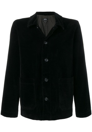 A.P.C. classic denim jacket - Black