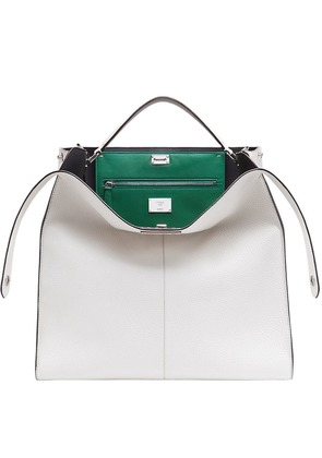 Fendi Peekaboo X-Lite regular bag - White