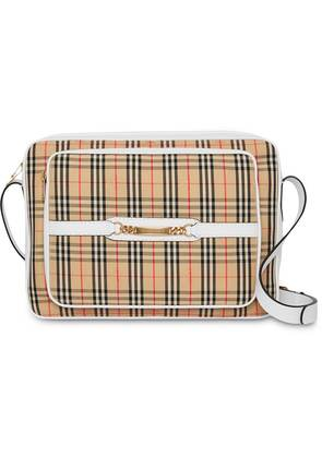 Burberry The Large 1983 Check Link Camera Bag - Neutrals