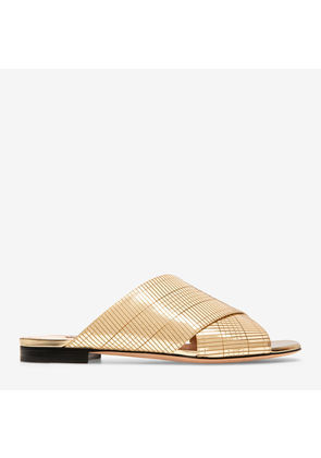 Bally Evoria Flat Yellow, EVORIA FLAT