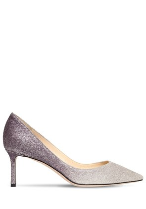 60MM ROMY GRADIENT GLITTER PUMPS