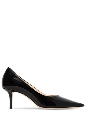 65MM LOVE PATENT LEATHER PUMPS
