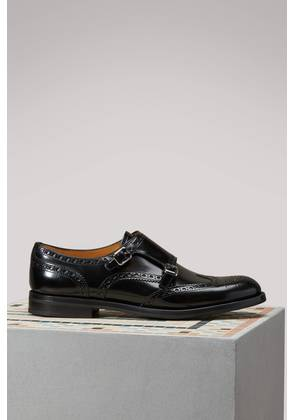 Lana leather derby shoes