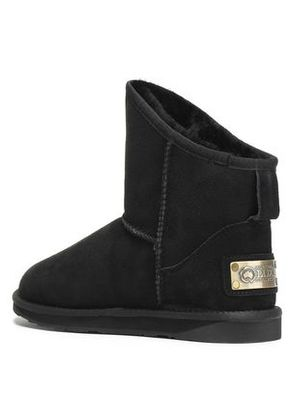 Australia Luxe Collective Woman Shearling Ankle Boots Black Size 10