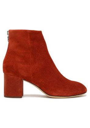 Rag & Bone Woman Suede Ankle Boots Brick Size 39