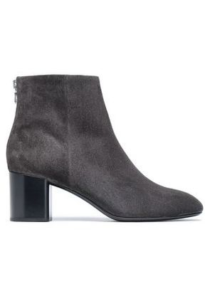 Rag & Bone Woman Suede Ankle Boots Charcoal Size 37.5