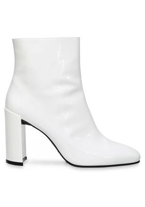 Stuart Weitzman Woman Patent-leather Ankle Boots White Size 35