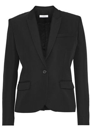 Iro Woman Tali Wool-twill Blazer Black Size 40