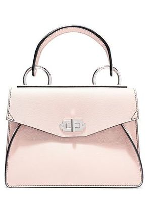 Proenza Schouler Woman Small Hava Textured-leather Tote Pastel Pink Size -