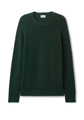 Josef Rib Sweater - Green