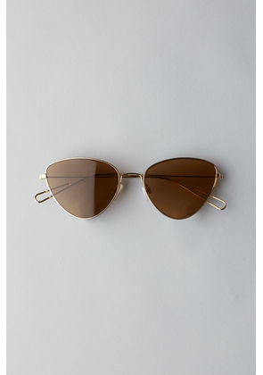 Taxi Cateye Sunglasses - Gold