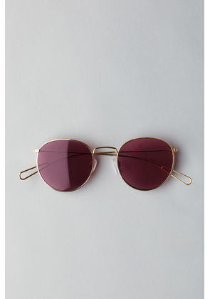 Explore Rounded Sunglasses - Gold