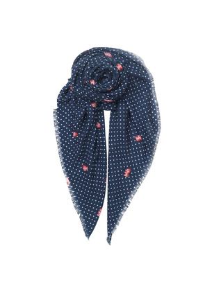 Love Ruby Scarf - Blue Nights