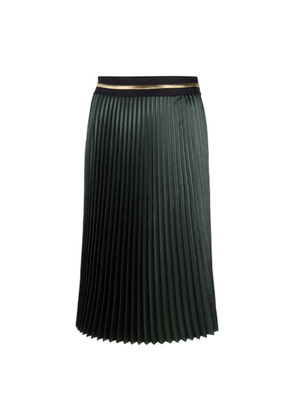 Joan Pleated Skirt - Moss