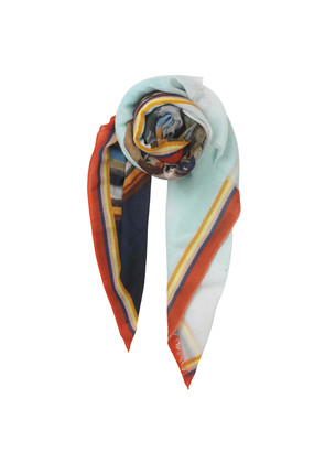 Maria Louise Wool Scarf - Multi