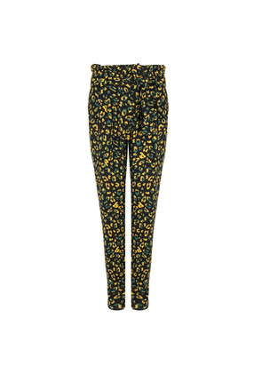Naveen Flash Trousers - Moss Leopard