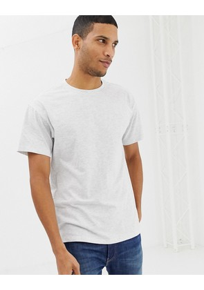 New Look oversized t-shirt in grey - Grey niu