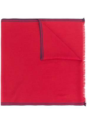 Loro Piana reversible scarf - Red