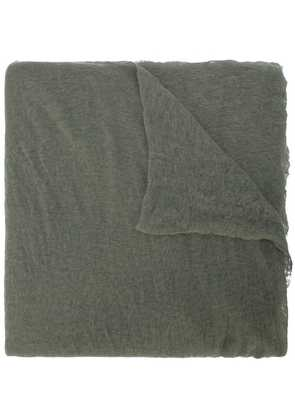 Botto Giuseppe long plain scarf - Green