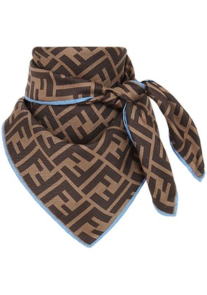 Fendi FF foulard - Brown