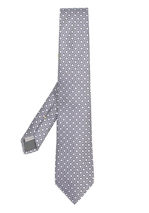 Canali patterned tie - Black