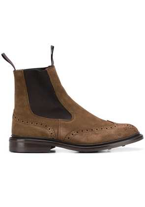 Trickers brogue boots - Brown