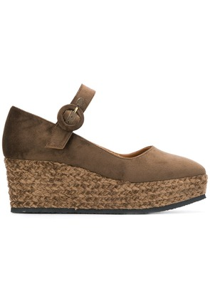 Castañer wedge sandals - Brown