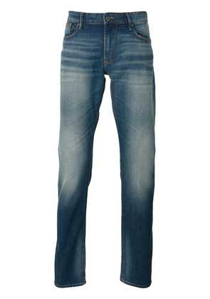 Armani Jeans classic faded jeans - Blue