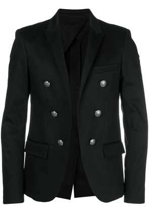 Balmain button detail blazer - Black