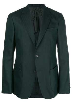Z Zegna single breasted blazer - Green