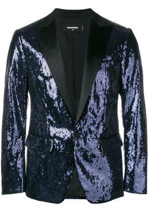 Dsquared2 sequins blazer - Blue