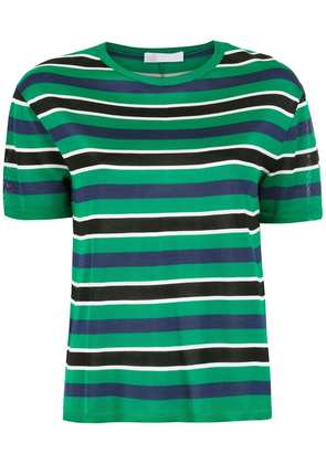 Nk knitted striped top - Green