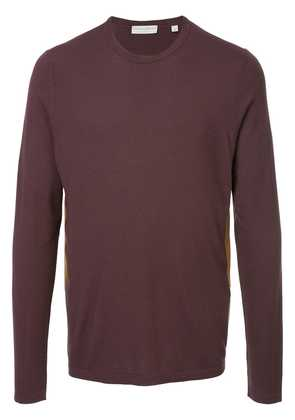 Gieves & Hawkes panelled top - Red