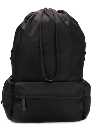 Jil Sander drawstring backpack - Black