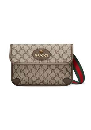 Gucci GG Supreme belt bag - Brown